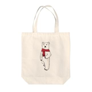 Mr. ポーラーベアー Tote bags