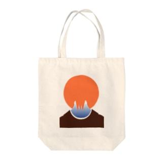 #いくぞ岩田屋unaji〜うなじ Tote bags