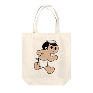 とびたくん(湯けむりver.) Tote bags