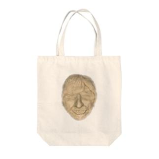 ちんすこうのデスマスク Tote bags
