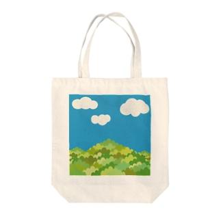 日本の夏山 Tote bags