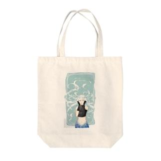 人魚姫の願い Tote bags