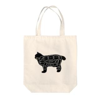 焼肉屋の猫 Tote bags