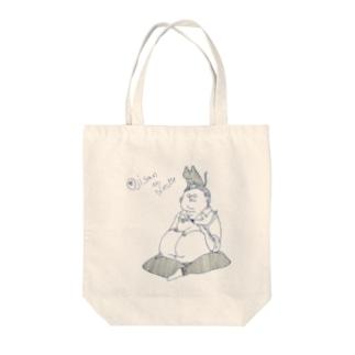 おじねこグッズ Tote bags