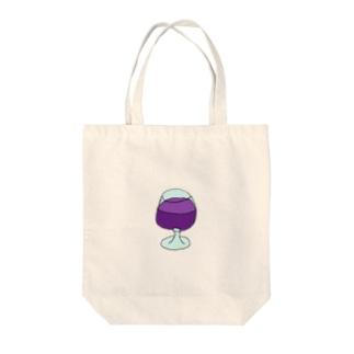 ジュース Tote bags
