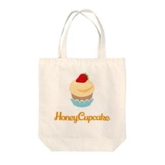 Honey Cupcake Tote bags