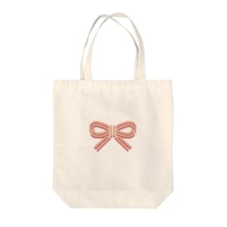 和風りぼん Tote bags