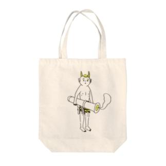 鬼に金棒 シンプル Tote bags