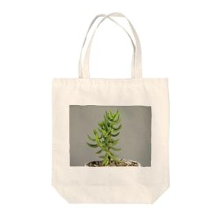 多肉植物B Tote bags