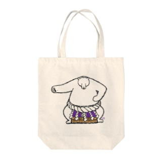 白熊山(雲竜型) Tote bags