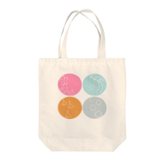 #いくぞ岩田屋 日本四季物語 Tote bags