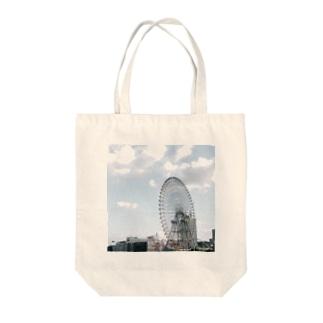 いつかの遊園地 Tote bags