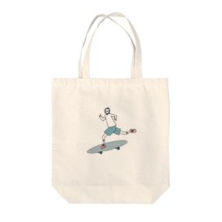 スケートGirl Tote bags