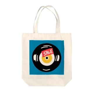 売れ残りレコード Tote bags
