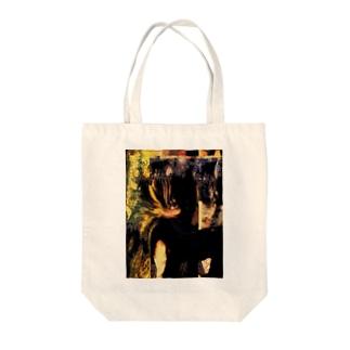 かわいい女の子 Tote bags