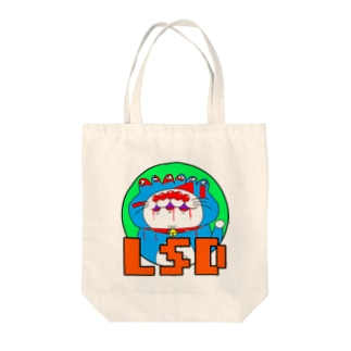 LSDえもん abnormal ver Tote bags