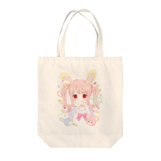 【オリジナル】うさぎさん Tote bags