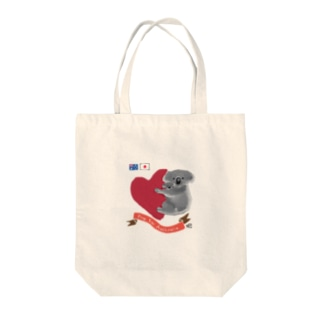 コアラ親子★Pray for Australia  Tote bags