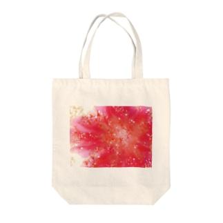 ほとばしる想い的な Tote bags