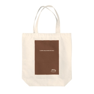 A coffee shop outside the town 2020 Tote bags