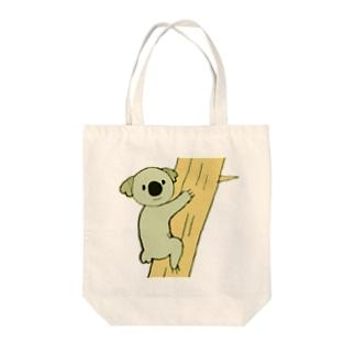 こあら Tote bags