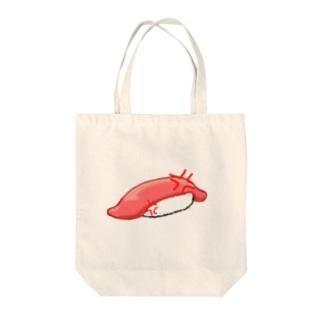 イカのにぎり Tote bags