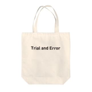 Trial and Error Tote bags