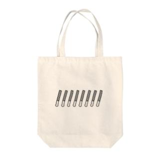 ペンライト(ボーダー) Tote bags