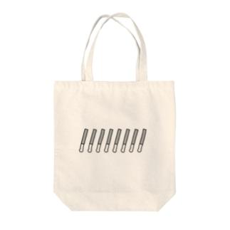 ペンライト(ドット) Tote bags