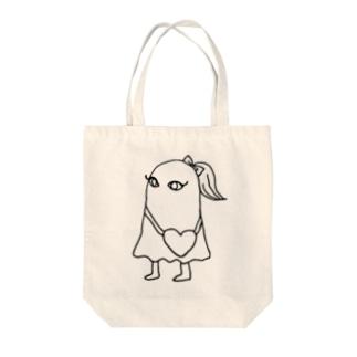 ゆめかわいいメジェド Tote bags