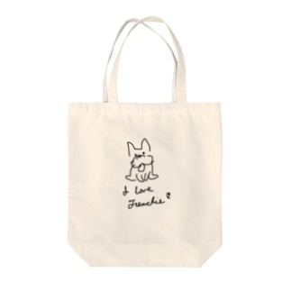 I love Frenchie♡︎ Tote bags