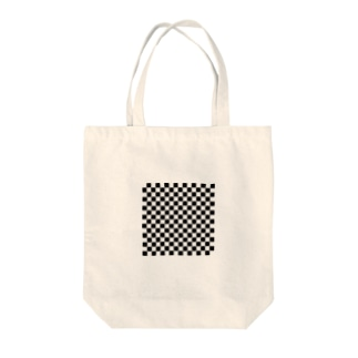 16×16のマス目 Tote bags