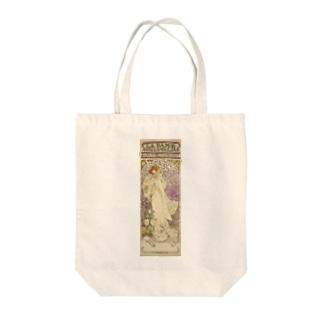 「LA. DAME. / AUX. CAMELIAS / SARAH BERNHARDT」  Mucha, Alphonse/Paris Musées Tote bags