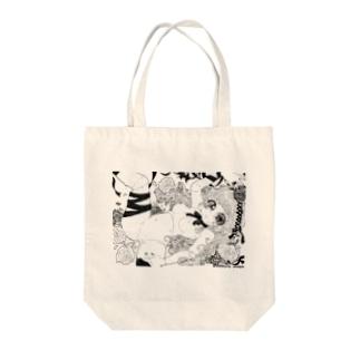 innocent@dokuro_mayu Tote bags