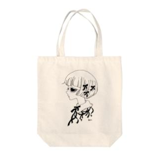 少女B Tote bags