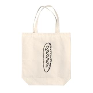西日に照るハードパン Tote bags