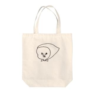 顔面蒼白ずきん Tote bags
