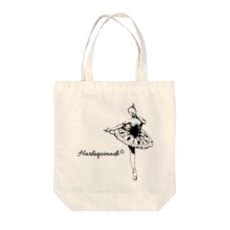 Harlequinade Tote bags