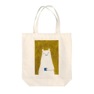 くま子の朝 Tote bags