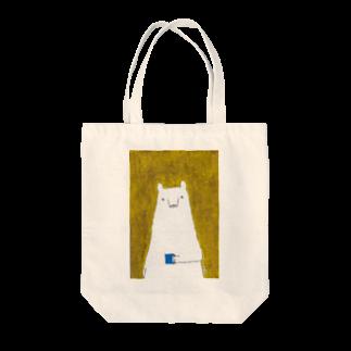 ヤマムラ エツコのくま子の朝 Tote bags