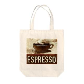 エスプレッソ1 Tote bags