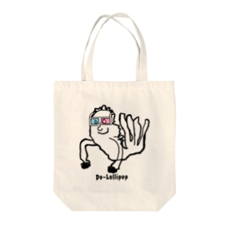 3Dエビフライ Tote bags