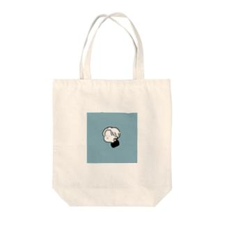 moi_smkblue Tote bags