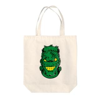 フランケン FACE【カラー】 Tote bags