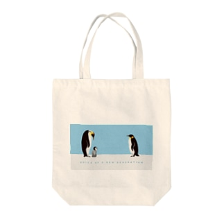 voice of 子ペンギン Tote bags