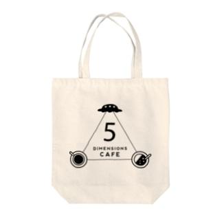 5次元カフェ(D)bk Tote bags