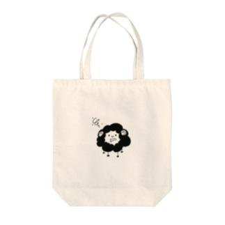 お眠なひつじ Tote bags