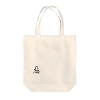 シルクハットのあいつ Tote bags