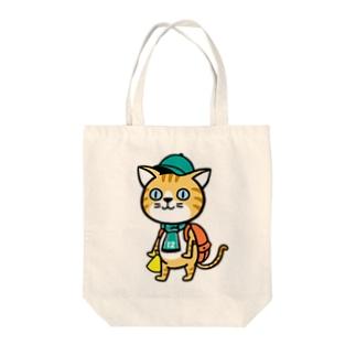 にゃんサポ 2 Tote bags