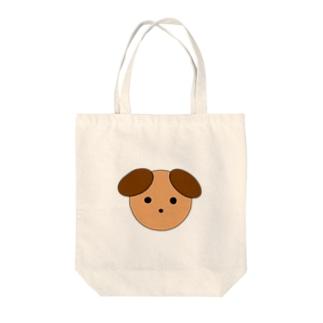 ワンちゃん Tote bags